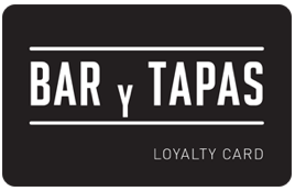 Bar Y Tapas Loyalty Card
